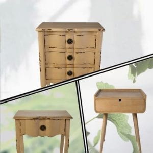 DRAWERS-BEDSIDE TABLES